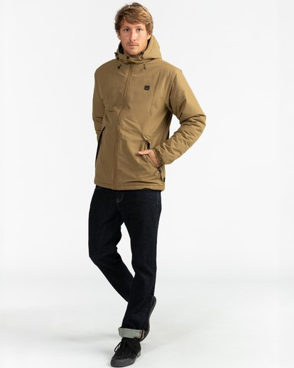 8 Adventure Division Collection Transport - Wendbare Jacke für Männer Beige U1JK31BIF0 Billabong