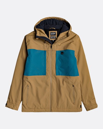 0 Adventure Division Collection Cliff Stretch 10K - 10K Waterproof Jacket for Men Beige U1JK34BIF0 Billabong