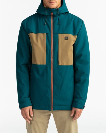 3 Adventure Division Collection Cliff Stretch 10K - Chaqueta impermeable 10K para Hombre  U1JK34BIF0 Billabong
