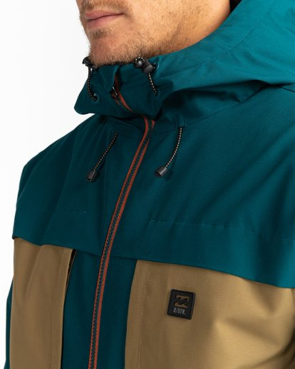 5 Adventure Division Collection Cliff Stretch 10K - Chaqueta impermeable 10K para Hombre  U1JK34BIF0 Billabong