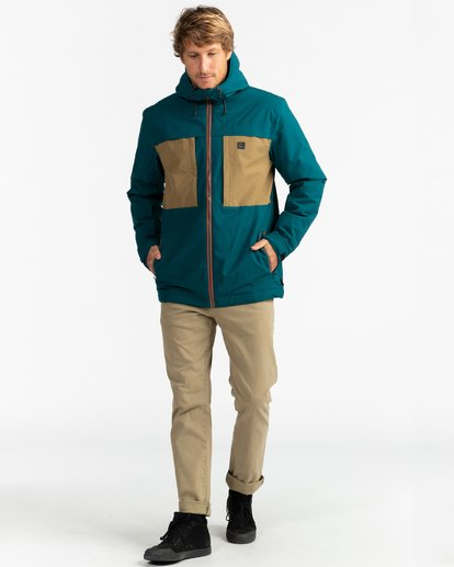 10 Adventure Division Collection Cliff Stretch 10K - Chaqueta impermeable 10K para Hombre  U1JK34BIF0 Billabong