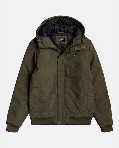 0 All Day - Water-Resistant Jacket for Men Green U1JK43BIF0 Billabong