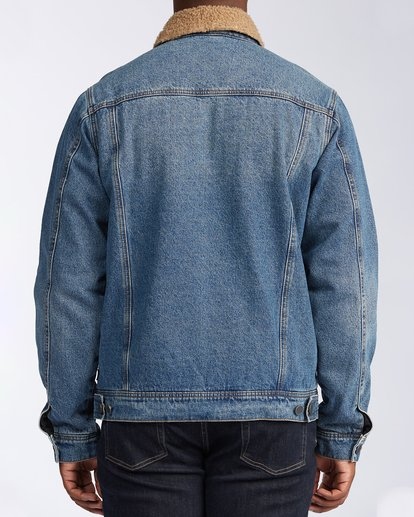 1 Barlow - Trucker Jacket for Men Blue U1JK46BIF0 Billabong