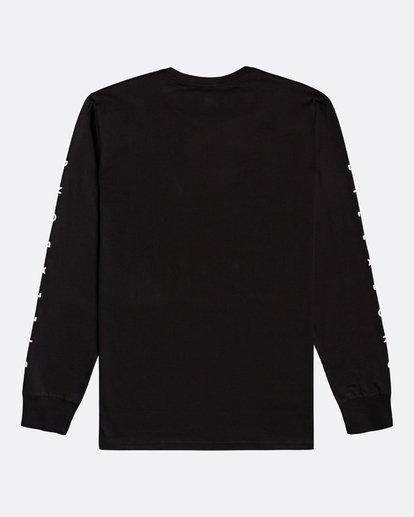 1 Unity - Camiseta de manga larga para Hombre Negro U1LS15BIF0 Billabong