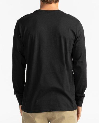 6 Unity - Camiseta de manga larga para Hombre Negro U1LS15BIF0 Billabong