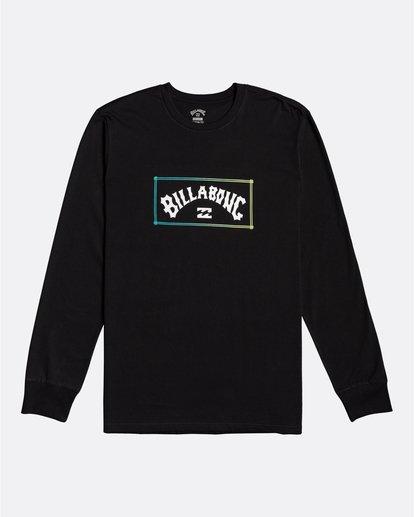 0 Arch - Camiseta de manga larga para Hombre Negro U1LS16BIF0 Billabong