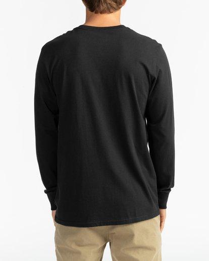 5 Arch - Camiseta de manga larga para Hombre Negro U1LS16BIF0 Billabong
