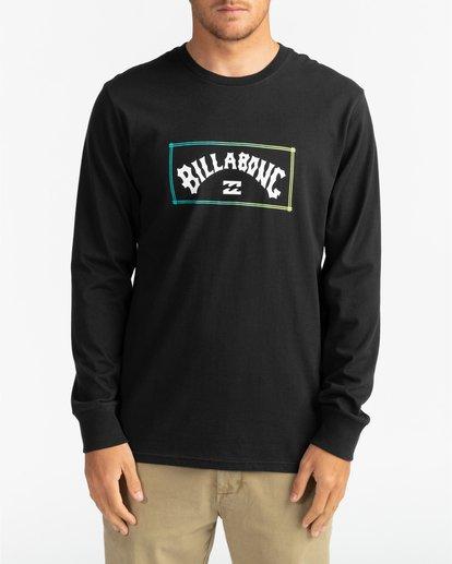 2 Arch - Camiseta de manga larga para Hombre Negro U1LS16BIF0 Billabong