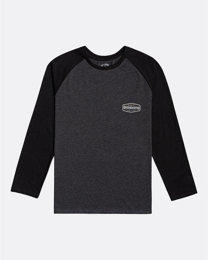 0 Montana - Camiseta de manga larga para Hombre Negro U1LS18BIF0 Billabong