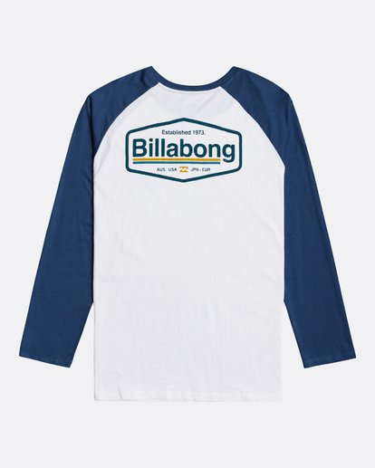 1 Montana - Long Sleeve T-Shirt for Men Blue U1LS18BIF0 Billabong