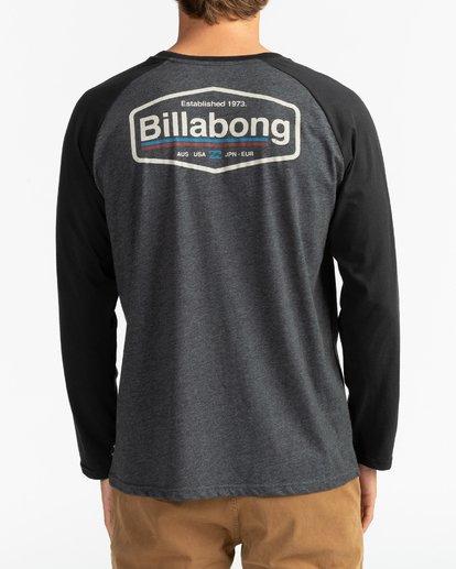 5 Montana - Camiseta de manga larga para Hombre Negro U1LS18BIF0 Billabong
