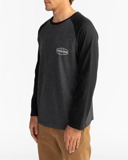 3 Montana - T-shirt manches longues pour Homme Noir U1LS18BIF0 Billabong