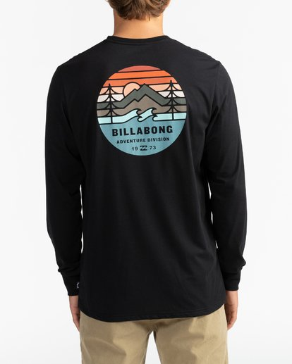 5 Adventure Division Collection Twin Pines - Camiseta de manga larga para Hombre Negro U1LS31BIF0 Billabong