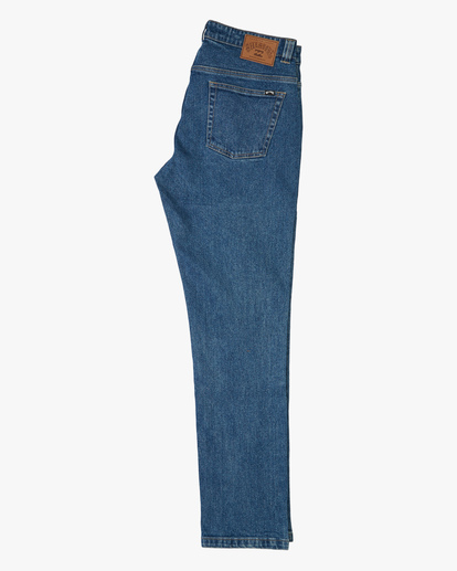 4 73 Jean - Vaquero de Corte Ajustado para Hombre Azul U1PN01BIF0 Billabong