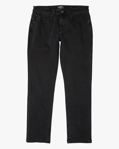 4 73 Jean - Vaqueros de corte ajustado para Hombre Negro U1PN01BIF0 Billabong