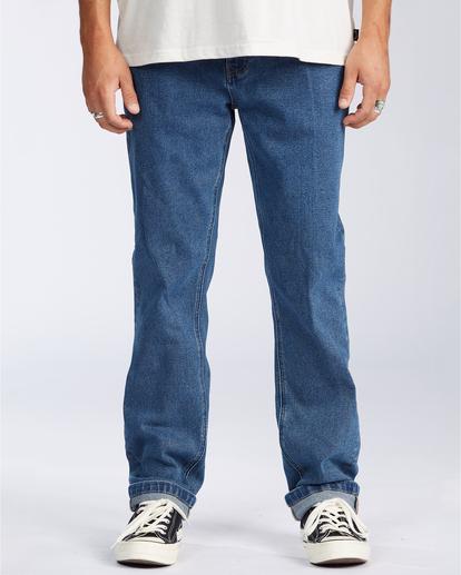 0 73 Jean - Vaquero de Corte Ajustado para Hombre Azul U1PN01BIF0 Billabong