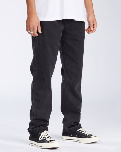 2 73 Jean - Vaqueros de corte ajustado para Hombre Negro U1PN01BIF0 Billabong