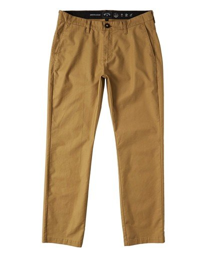 0 Adventure Division Collection Surftrek - Hose für Männer Beige U1PT02BIF0 Billabong