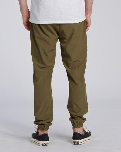 1 Adventure Division Collection Transport - Pantalon avec taille élastique pour Homme  U1PT03BIF0 Billabong