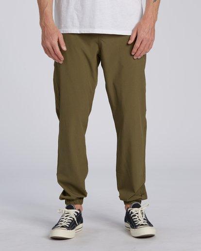 0 Adventure Division Collection Transport - Pantalon avec taille élastique pour Homme  U1PT03BIF0 Billabong