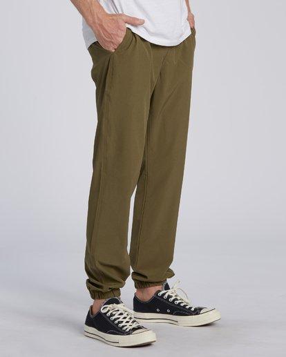 2 Adventure Division Collection Transport - Pantalon avec taille élastique pour Homme  U1PT03BIF0 Billabong
