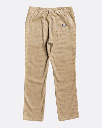 1 Layback - Pantalón con elástico para Hombre Verde U1PT04BIF0 Billabong