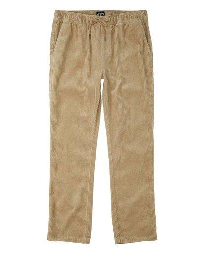 0 Layback - Pantalón con elástico para Hombre Verde U1PT04BIF0 Billabong