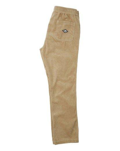2 Layback - Pantalón con elástico para Hombre Verde U1PT04BIF0 Billabong