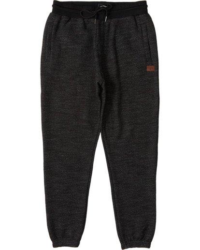 3 Balance Pant Cuffed - Elastische Hose für Männer Schwarz U1PT08BIF0 Billabong
