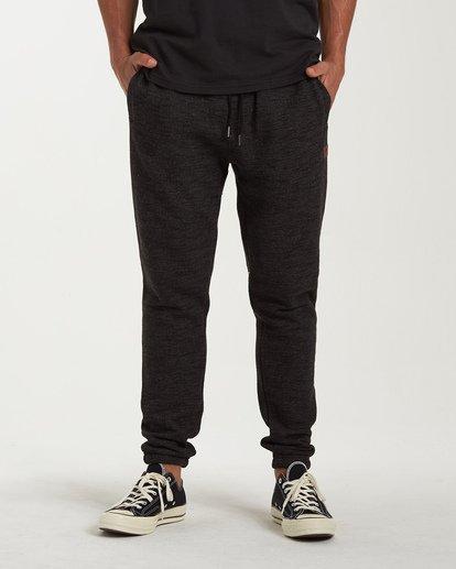 0 Balance Pant Cuffed - Elastische Hose für Männer Schwarz U1PT08BIF0 Billabong