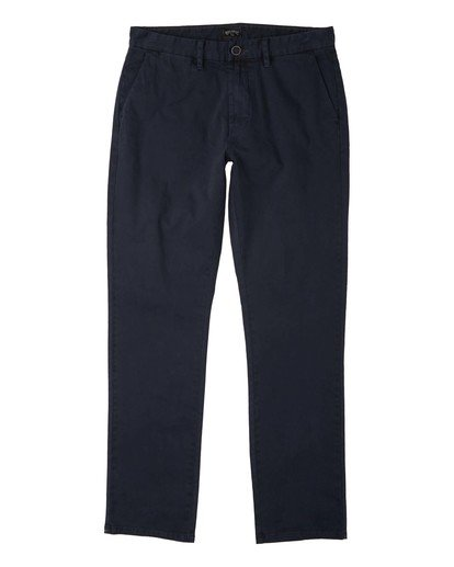 0 73 - Pantalón chino para Hombre Azul U1PT10BIF0 Billabong