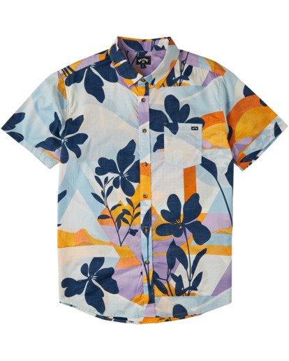 3 Sundays Floral - Camisa de manga corta para Hombre Azul U1SH05BIF0 Billabong