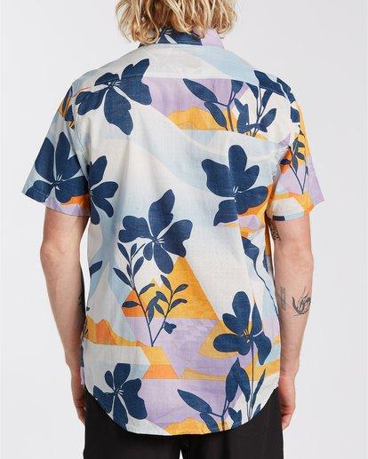 1 Sundays Floral - Camisa de manga corta para Hombre Azul U1SH05BIF0 Billabong