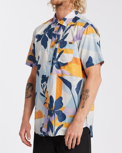 2 Sundays Floral - Camisa de manga corta para Hombre Azul U1SH05BIF0 Billabong