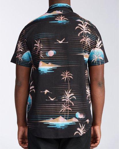 2 Sundays Floral - Short Sleeve Shirt for Men Black U1SH05BIF0 Billabong
