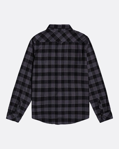 1 All Day Flannel - Camisa de manga larga para Hombre Negro U1SH10BIF0 Billabong