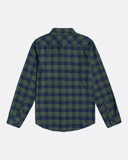 1 All Day Flannel - Camisa de manga larga para Hombre Verde U1SH10BIF0 Billabong
