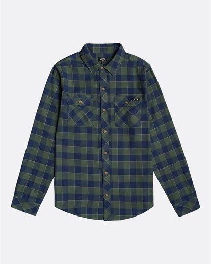 0 All Day Flannel - Camisa de manga larga para Hombre Verde U1SH10BIF0 Billabong