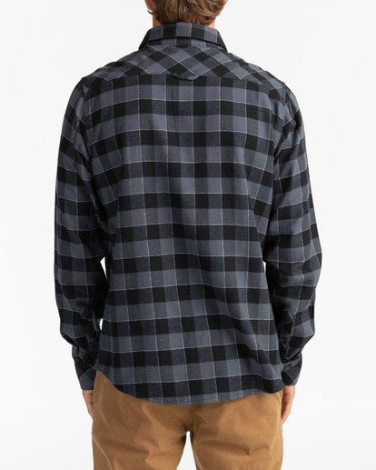 5 All Day Flannel - Camisa de manga larga para Hombre Negro U1SH10BIF0 Billabong