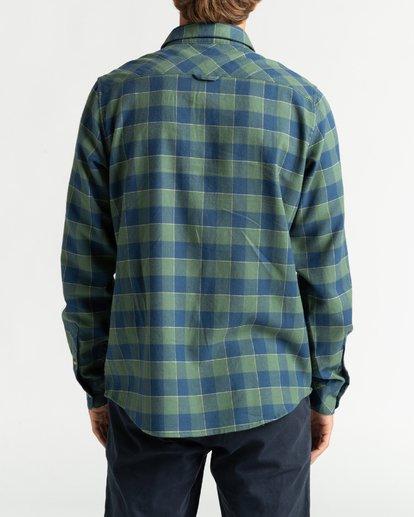 5 All Day Flannel - Camisa de manga larga para Hombre Verde U1SH10BIF0 Billabong