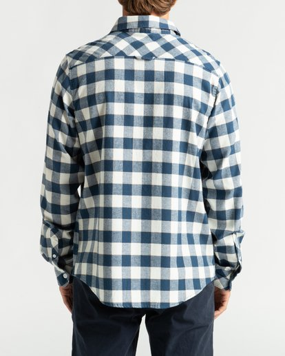 5 All Day Flannel - Langärmliges Hemd für Männer Mehrfarbig U1SH10BIF0 Billabong