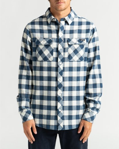 2 All Day Flannel - Langärmliges Hemd für Männer Mehrfarbig U1SH10BIF0 Billabong