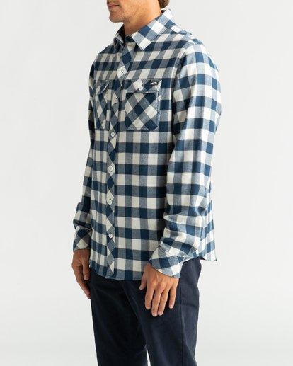3 All Day Flannel - Langärmliges Hemd für Männer Mehrfarbig U1SH10BIF0 Billabong