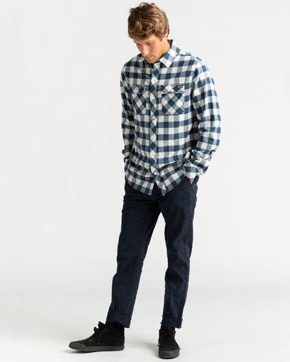 4 All Day Flannel - Langärmliges Hemd für Männer Mehrfarbig U1SH10BIF0 Billabong