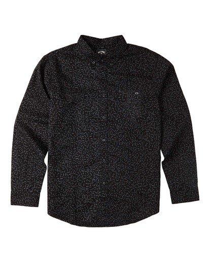 4 Sundays Mini - Langärmliges Hemd für Männer Grau U1SH11BIF0 Billabong
