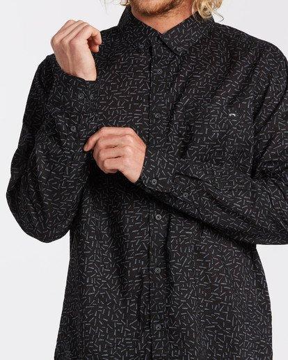 3 Sundays Mini - Langärmliges Hemd für Männer Grau U1SH11BIF0 Billabong