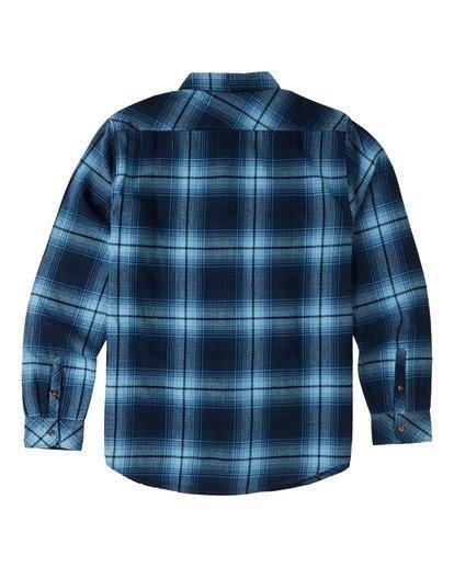 6 Coastline - Langärmliges Hemd für Männer Blau U1SH12BIF0 Billabong