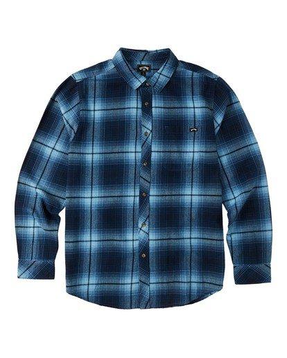 5 Coastline - Camisa de manga larga para Hombre Azul U1SH12BIF0 Billabong