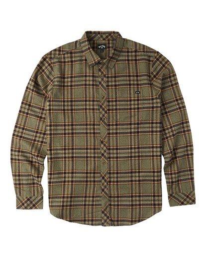 4 Coastline - Camisa de manga larga para Hombre  U1SH12BIF0 Billabong