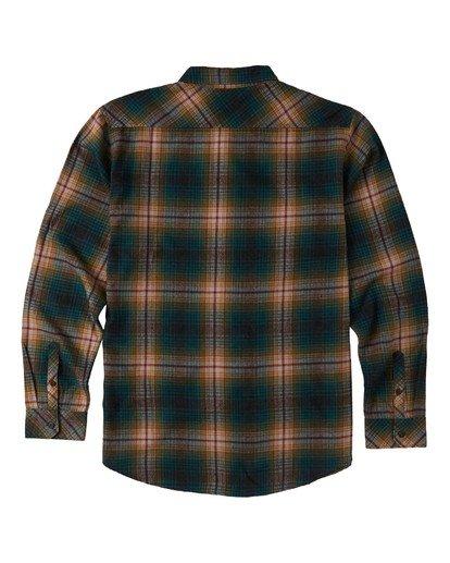 6 Coastline - Camisa de manga larga para Hombre Negro U1SH12BIF0 Billabong
